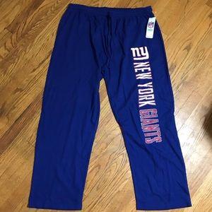 New York giants XL NFL sleepwear pants AA125